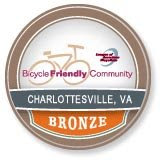 Charlottesville is Bike Friendly!