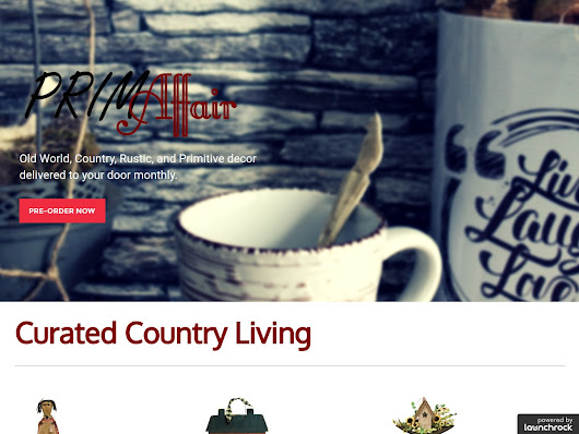Country Home Decor - Monthly Subscription Service | PrimAffair