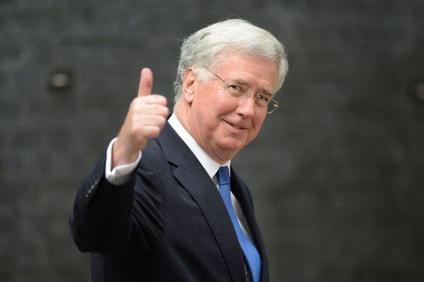 Segretario alla Difesa britannico Michael Fallon