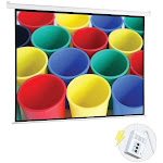 "Pyle PRJELMT76 Motorized Projector Screen (72"")"