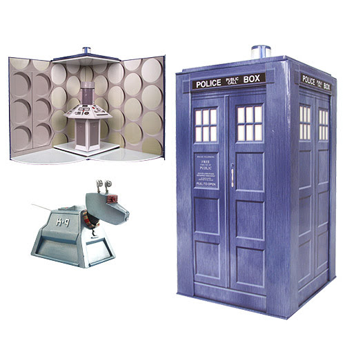 Doctor Who TARDIS Collectible Set with K-9 Figure - Bif Bang Pow! - Doctor Who - Action Figures at Entertainment Earth