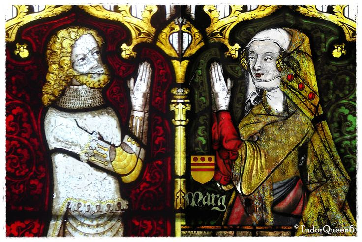 The Earl and Countess of Kent, Prince Edmund of Woodstock and Margaret Wake, Baroness Wake of Liddel
