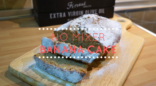 No Mixer Banana Cake - Ada Indonesia !?!
