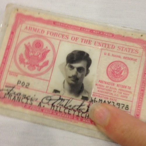 Dads navy ID