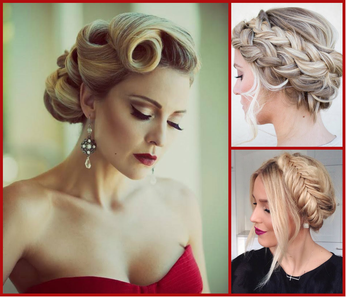 Top Trendy Updo Hairstyles 2015 Long Hairstyles