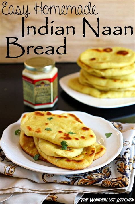 easy indian naan bread recipe