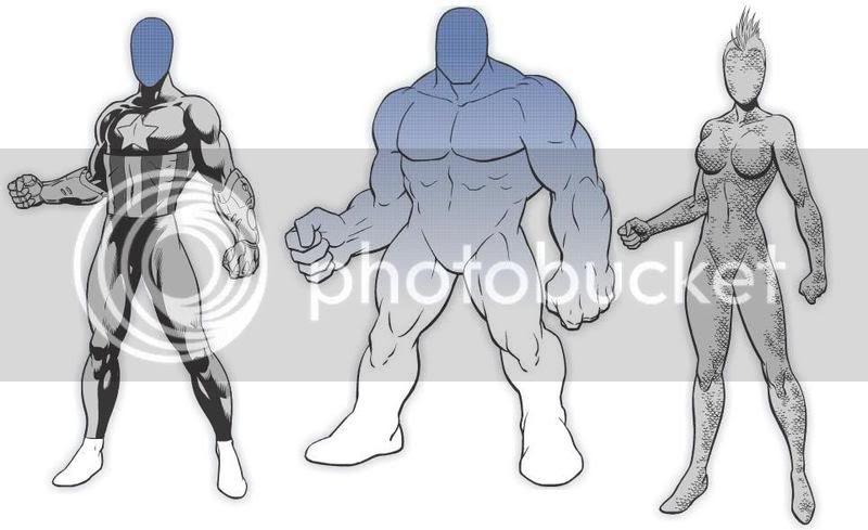 MarvelKids - Create Superhero