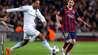 Manchester City Joleon Lescott could be on his way to the capital