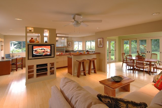 Koolau Retreat  Asian  Kitchen  hawaii  by Archipelago Hawaii Luxury Home Designs