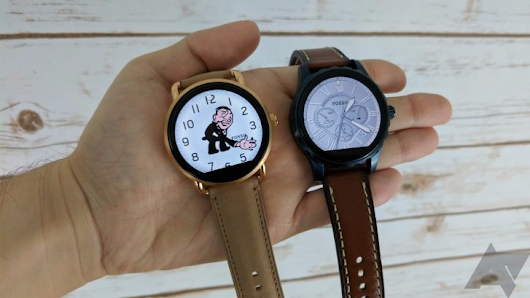 Fossil says its Android Wear 2.0 OTA is already underway, wider rollout starts tomorrow