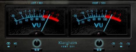 klanghelm releases vumt vu meter trim plug