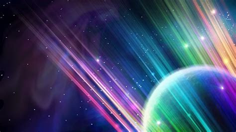 Surreal Colourful Space Scene   HD Wallpapers