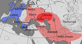 Карта миграции R1a
