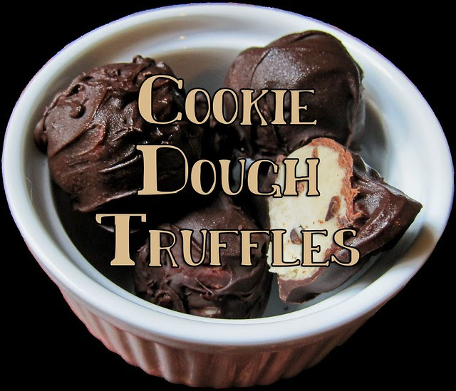 Cookie Dough Truffles - Title