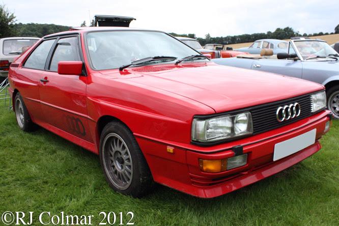 Audi Quattro, Classics at the Castle, Sherborne