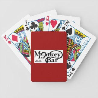 Monkey Bar-Atlanta Bicycle Card Deck