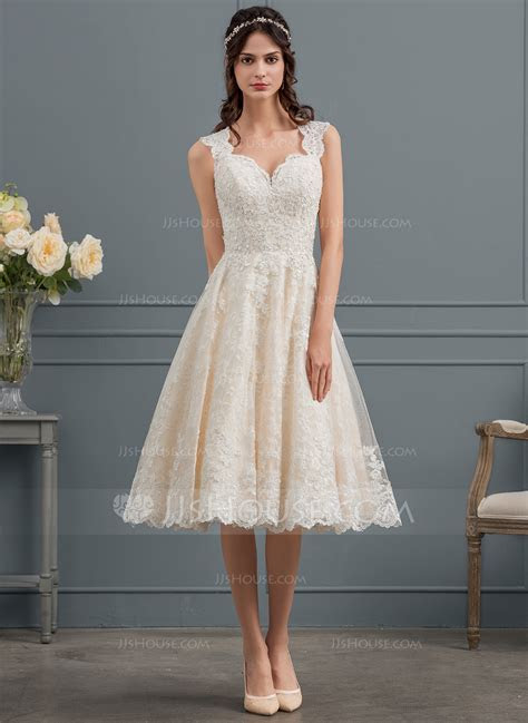 Ball Gown/Princess Sweetheart Knee Length Tulle Lace