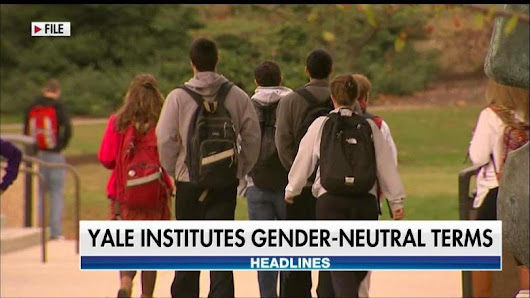 Yale Replaces 'Freshman,' 'Upperclassman' With Gender-Neutral Terms