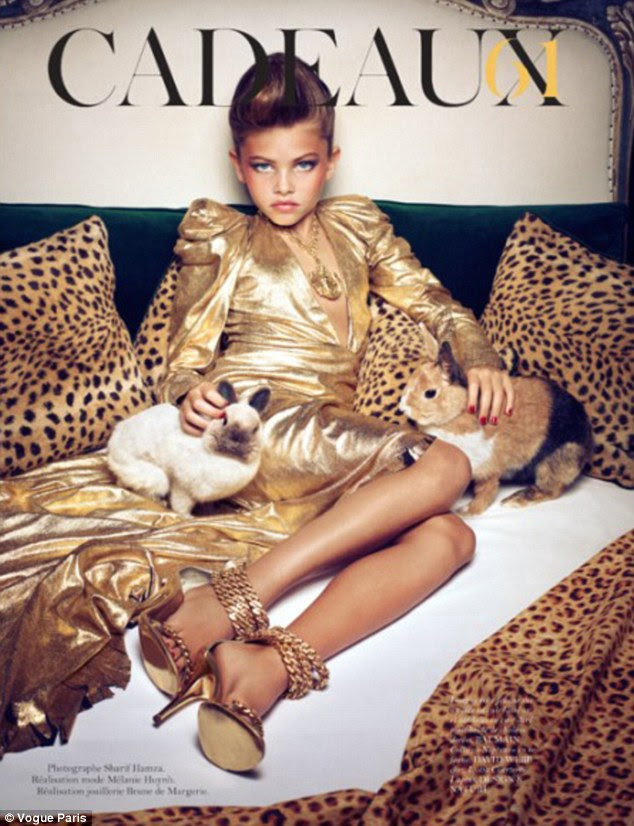 Why Thylane Blondeau is trending today?