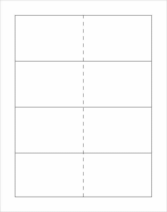Flash Card Template – 13+ Free Printable Word, PDF, PSD, EPS ...