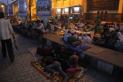 The Plight Of The Devotees Of Garib Nawaz At Ajmer Railway Station by firoze shakir photographerno1