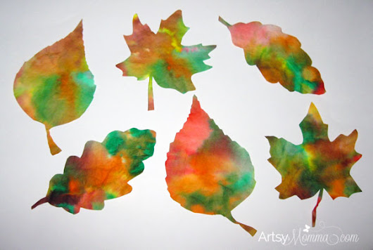 Easy Fall Leaf Projects For Toddlers And Preschoolers - Artsy Momma