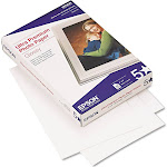 "Epson Ultra Premium Glossy Photo Photo Paper, 4"" x 6"" - 60 sheets"