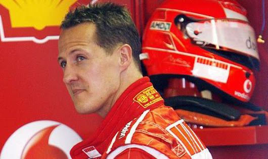 Michael Schumacher makes progress after skiing accident