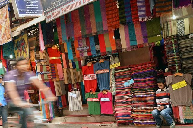 Thamel Street Shops