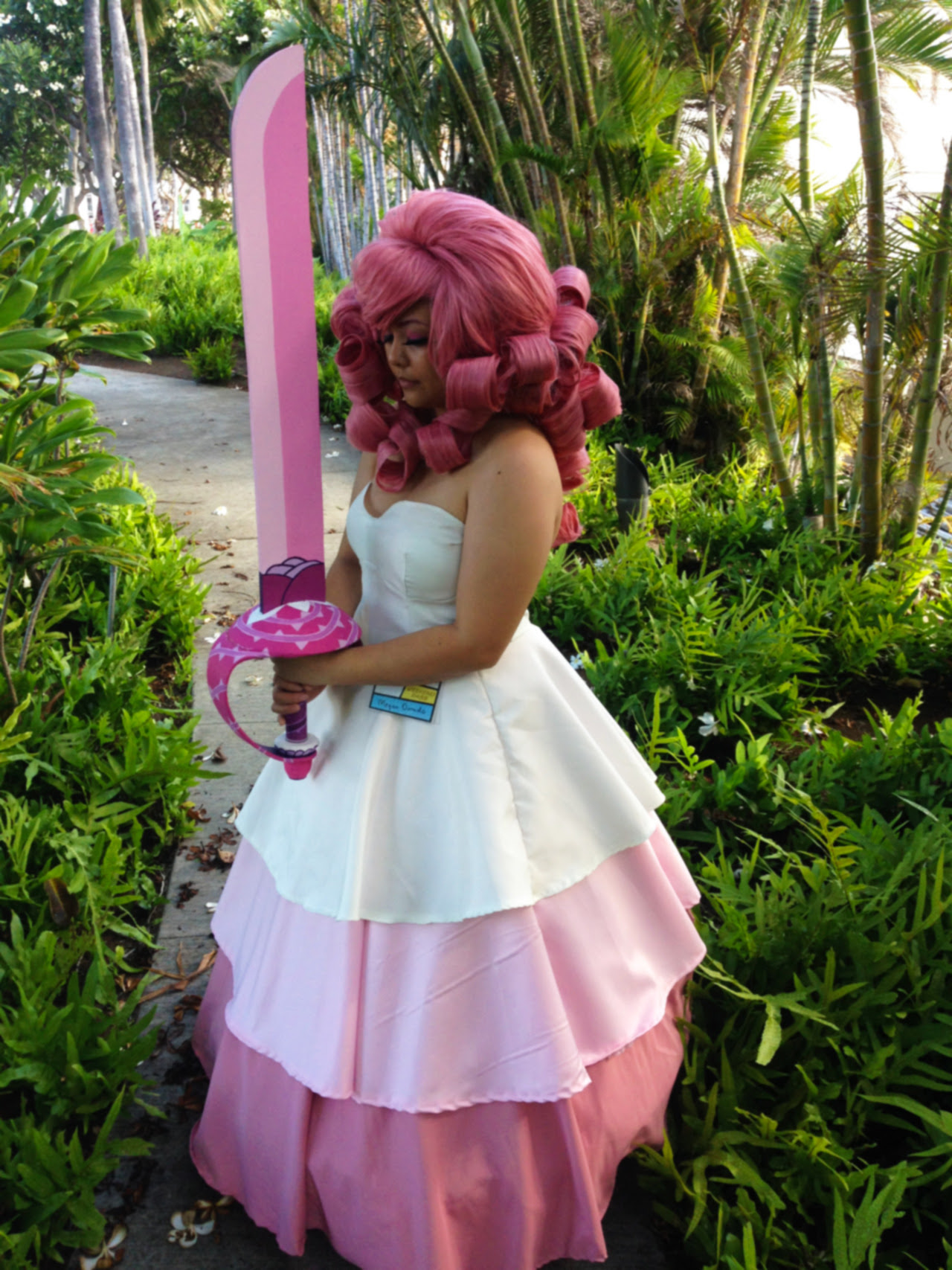 Mizimel as Rose Quartz from Steven Universe