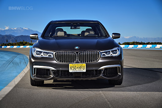 FIRST DRIVE: 2017 BMW M760Li xDrive - Torque, Torque and More Torque