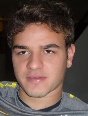 Gabriel, goleiro da Seleção sub-20 (Foto: Victor Canedo / Globoesporte.com)