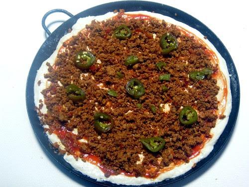 Mexican Pizza Prep 2