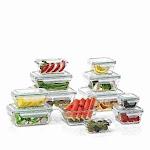 Member's Mark 24-Piece Glass Food Storage Set by Glasslock
