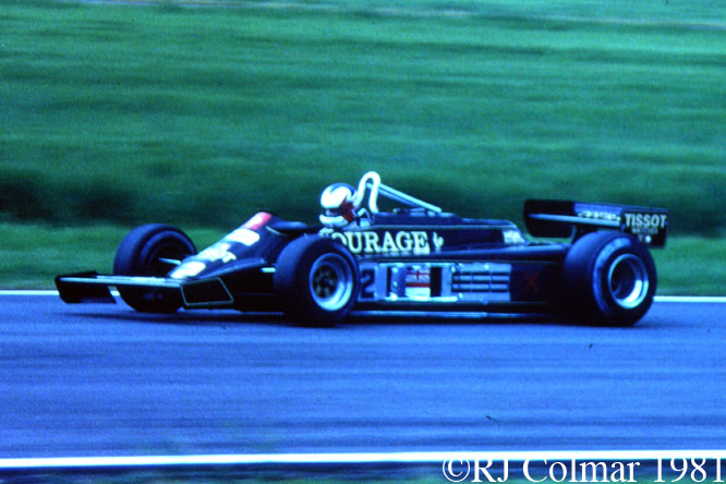 Lotus Ford 87, British Grand Prix, Silverstone