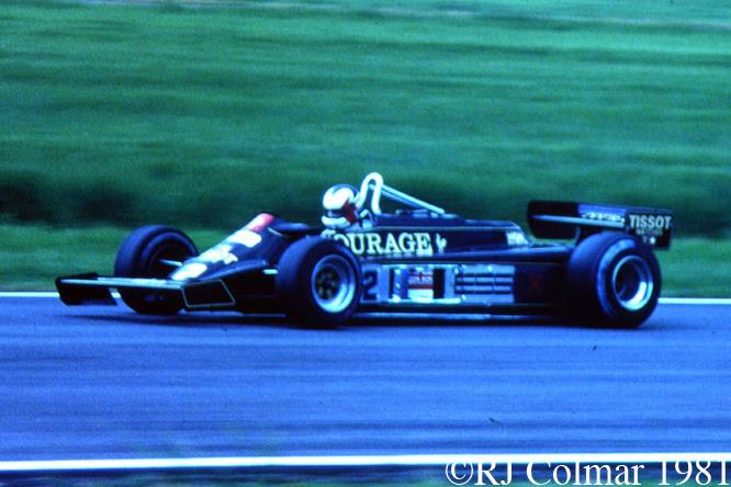 Lotus Ford 87, British Grand Prix, Silverstone