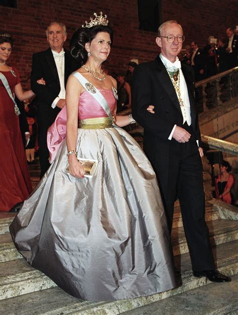 Princess Victoria Wears Queen Silvia's Dress 23 Years