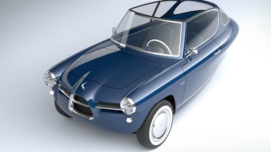 Nobe 100 Electric Car Is A Three-Wheeled Dollop Of Retro Cuteness | CleanTechnica