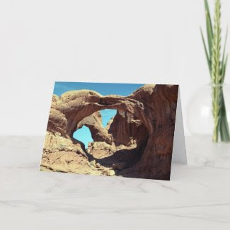 Double Arch card