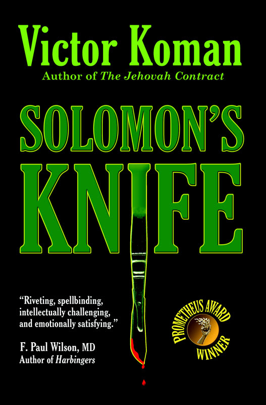 Solomon's Knife Cover