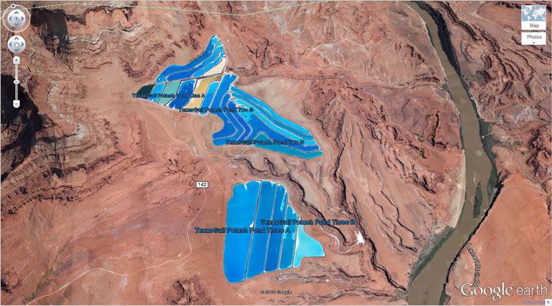 potash-pools google earth