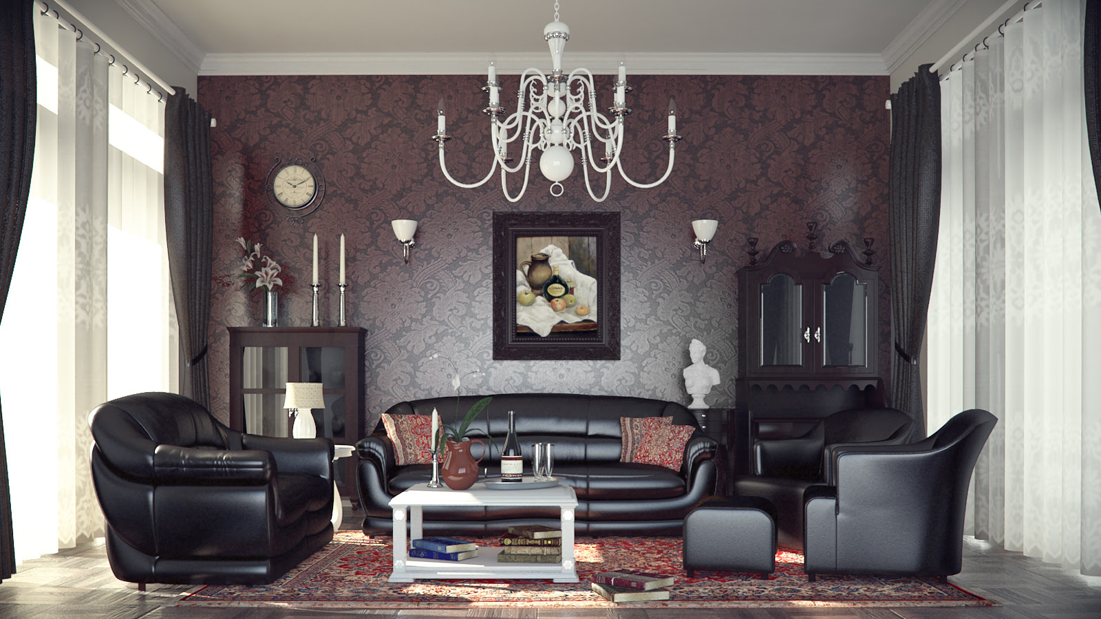 Classic and Retro Style Living Rooms