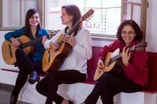 As três musicistas têm trabalhos importantes como instrumentistas