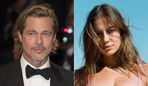 Hollywood  : Brad Pitt, 56, met new girlfriend Nicole Poturalski, 27, at her HUSBAND'S restaurant in Berlin