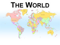 Maps for powerpoint - Awesome powerpoint backgrounds World Map ...