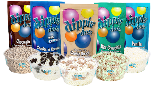 Dippin' Dots & Sharkey's Cuts for Kids Formalize Relationship - Freezers to Franchisees in Transit!