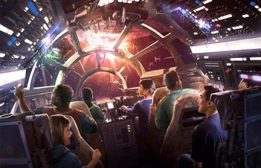 Star Wars Galaxy's Edge Is Coming To Disney Parks! | FizX