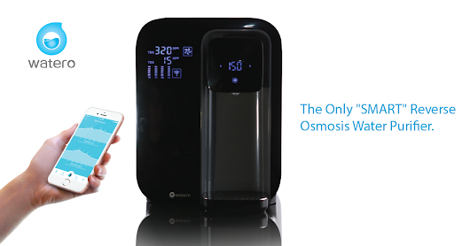 CLICK HERE to support WaterO - The only 'SMART' reverse osmosis purifier