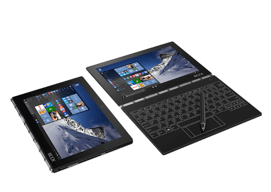 YOGA Book with Windows | The Ultimate 2-in-1 Windows Productivity Tablet  | Lenovo UK
