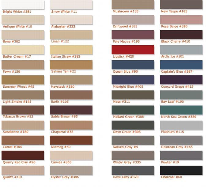 Mapei Grout Colors - Effy Moom